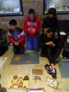 Visita museo arqueoloxico da Coruña