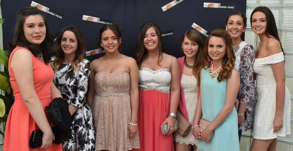 Nuria, Eva, Carmelina, Dámaris, Gema, Andrea, Laura, Nicole