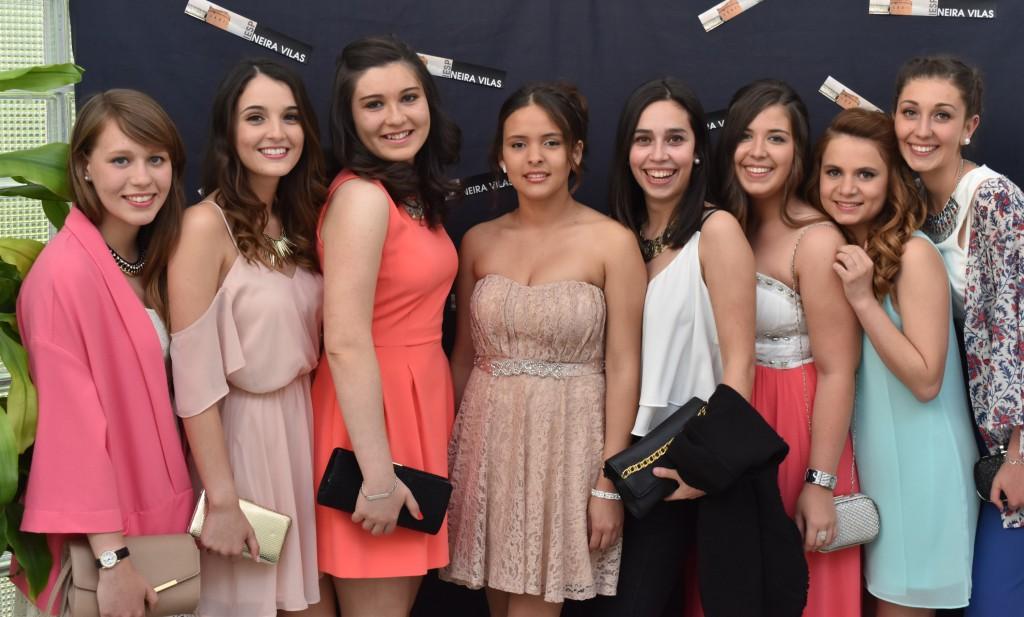 Irea, Nuria, Carmelina, Alba, Dámaris, Andrea Laura