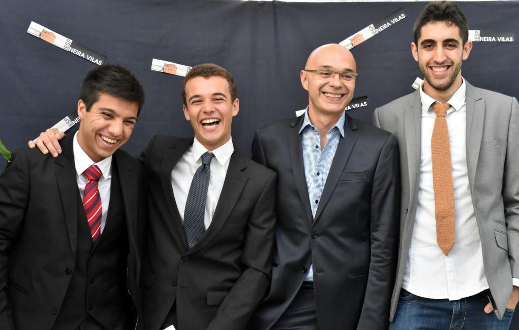 Adrián, Antón, Jorge, Martín