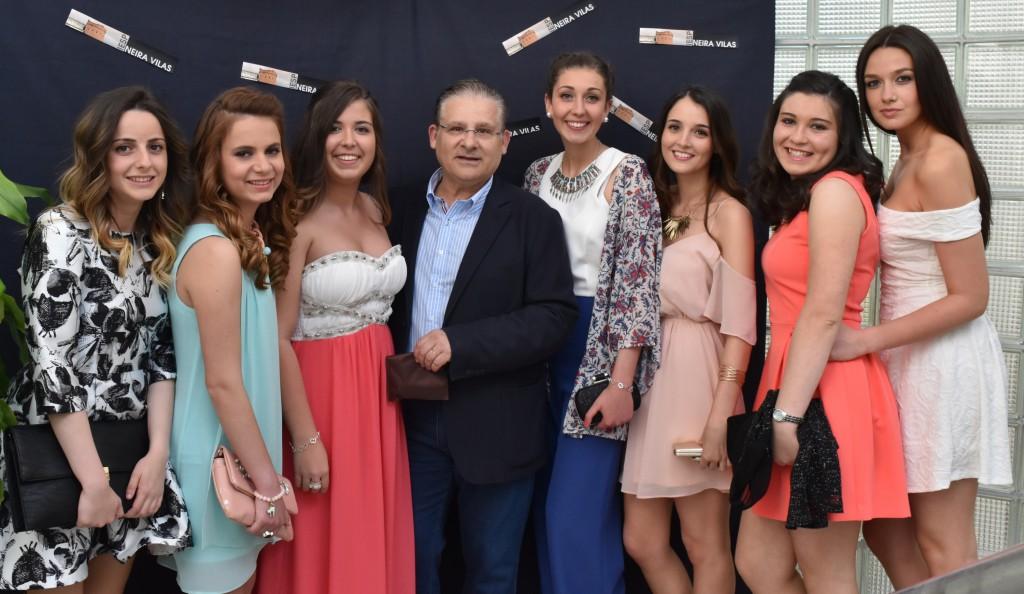 Eva, Andrea, Dámaris, Carlos, Laura, Irea, Nuria, Nicole